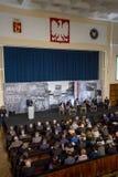 Marschera vicepresidentet för ` 68 av rådet av ministrar, ministern av vetenskap och högre utbildning - Jaroslaw Gowin Arkivbilder