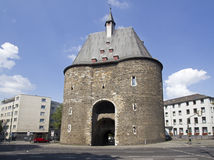 Marschiertor in Aachen, Germany. The old city gate Marschiertor in Aachen, Germany stock photography
