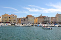 Marseille. View from port of Marseille Royalty Free Stock Photo