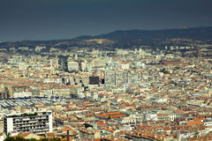 Marseille aerial view Royalty Free Stock Photography