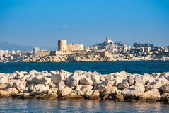 Marseille-Ansicht Stockbilder