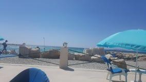 Marseille beach Royalty Free Stock Photo