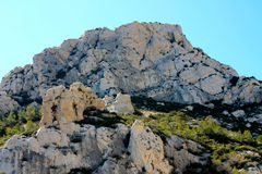 Marseille Calanques, Frankrike Royaltyfri Foto
