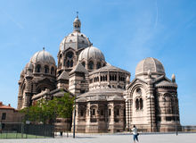 Marseille Cathedral de la Major Royalty Free Stock Images