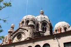 Marseille Cathedral de la Major Stock Image