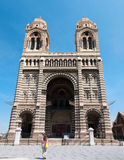 Marseille Cathedral de la Major Royalty Free Stock Photo