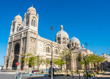 Marseille Cathedral, large catholic church Stock Photography