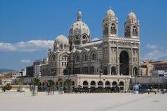 Marseille Cathedrale de la Major Stockbild