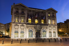 Marseille City Hall in France Royalty Free Stock Images
