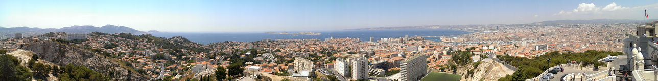 Marseille city Royalty Free Stock Image