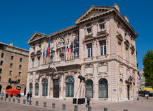 The Marseille cityhall Royalty Free Stock Image