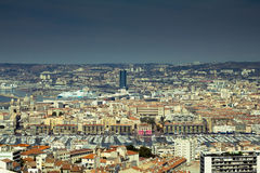 Marseille cityscape Royalty Free Stock Images