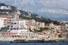 Marseille coastline Stock Photo