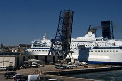 Marseille ferry Royalty Free Stock Photography