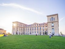 Palais du Pharo in Marseille, France Royalty Free Stock Photo
