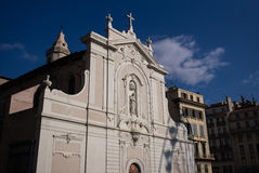 Marseille, France Church Facade Stock Image