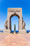 Marseille, France. Memorial to fallen soldiers of the Eastern Army and the far  territories Stock Photo