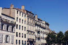 Marseille, France. Traditional architecture in Marseille in France Stock Photography