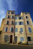 Marseille France. Typical town house in mediterranean city. Historic architecture. Stock Photos