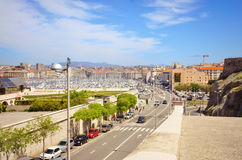 Marseille, France. View from the Fort St Nicolas Stock Photo