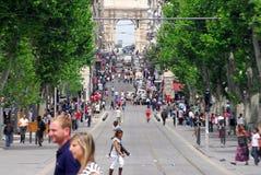 Marseille - Frankreich Stockfotografie