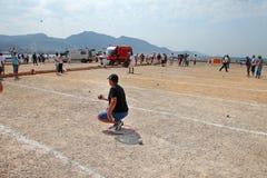 Marseille Frankreich - 20. August 2012 Sport u. Erholung Lizenzfreies Stockfoto