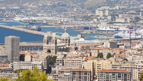 Marseille Frankrike Royaltyfria Foton