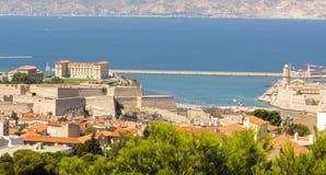 Marseille Frankrike Royaltyfria Bilder