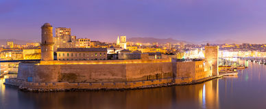 Marseille Frankrike Arkivfoton