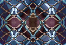 Marseille gated pattern. A pattern made from a gated garage in marseille, france stock photo
