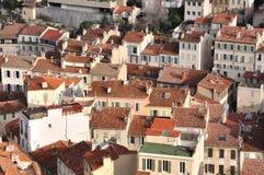 Marseille - Häuser Stockbilder