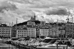Marseille-Hafen Stockfotos