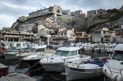 Marseille-Hafen Lizenzfreie Stockfotos