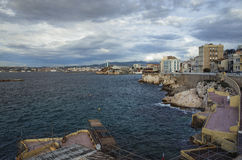 Marseille Harbor Royalty Free Stock Image