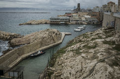 Marseille Harbor Royalty Free Stock Photography