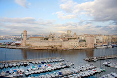 Marseille harbor Stock Images