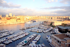 Marseille harbor Stock Image