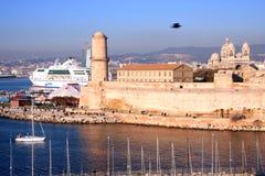 Marseille harbor Royalty Free Stock Photography