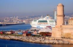 Marseille harbor Stock Photos