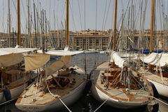 Marseille Haven Royalty Free Stock Photography