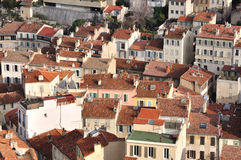 Marseille - houses. Just common houses which you can easily find in French second largest city - Marseille Stock Images