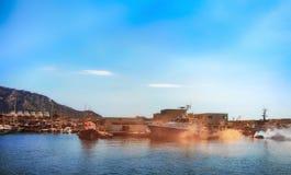 Marseille-INPP royalty-vrije stock foto's