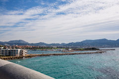Marseille-Küste Stockfotografie