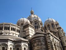 Marseille La Major Cathedral Royalty Free Stock Image