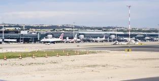 Marseille lotnisko Zdjęcia Royalty Free