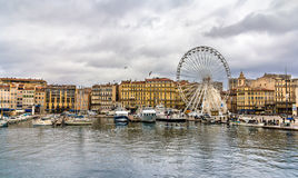 Marseille near the Old Port - France Stock Photo