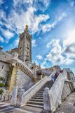 Marseille Notre Dame de la Garde Discover die Architektur lizenzfreie stockfotografie
