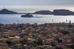 Marseille - południe Francja Zdjęcia Stock