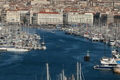 Marseille. Port m Royalty Free Stock Photos