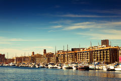 Marseille Port Royalty Free Stock Image